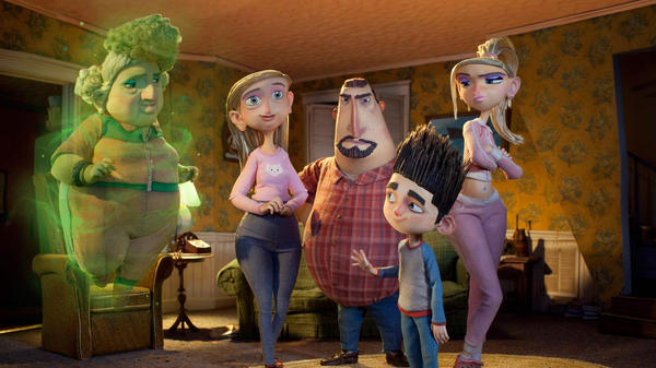 In animated family films like <em>ParaNorman</em>, ghosts are more likely to cause laughter than shivers. Critic Bob Mondello explores how we got here from the Hollywood fright fests of the '30s.