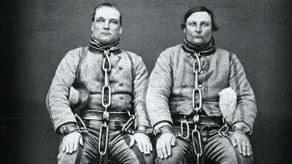 Two legendary 19th century Finnish murderers grace the cover to Kimmo Pohjonen's<em> Murhaballadeja</em>.