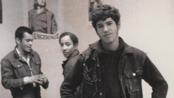 Benjy Melendez (right) founded and led The Ghetto Brothers in the early 1970s.