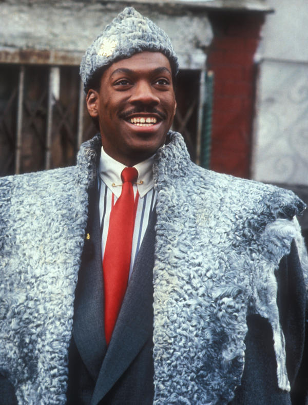 Eddie Murphy in John Landis' comedy <em>Coming to America</em>.