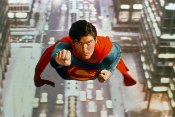 When Superman returned to the silver screen in the '70s, Freeborn did actor Christopher Reeve's makeup.