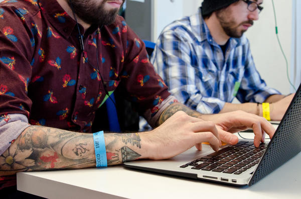 """More than 550 people churned out 78 apps in one day as part of Fashion Week's """"hackathon."""""""