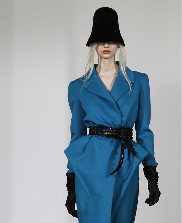 Fashion from designers like Oscar de la Renta were on display at Fashion Week in New York.
