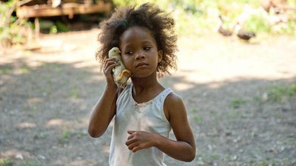 Quvenzhane Wallis plays Hushpuppy in the film <em>Beasts of the Southern Wild</em>.