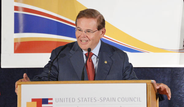 Sen. Robert Menendez of New Jersey, shown in June, has come under scrutiny before, but has never been charged.