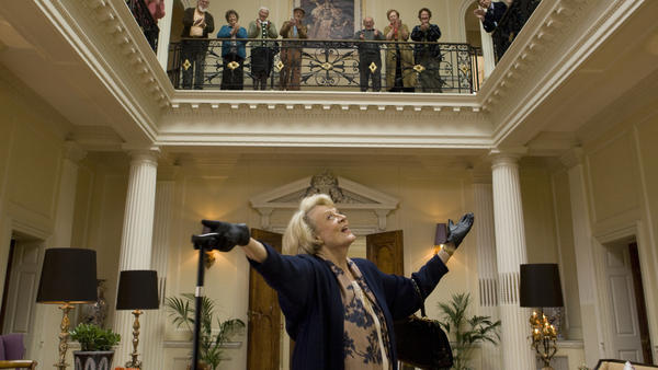Maggie Smith plays aging opera diva Jean in the film <em>Quartet</em>. Increasingly, movies are turning their attention to older subjects in order to draw in older audiences.