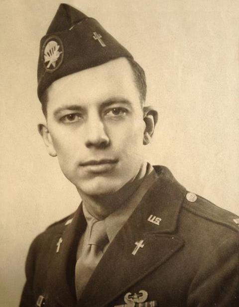 Cosby served as a chaplain in the 327th Glider Infantry Regiment of the 101st Airborne Division in World War II.
