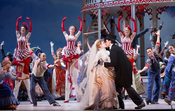 Crowded with a cast of 100 and awash in circus-bright colors, the Washington National Opera's <em>Show Boat </em>revival is a vivid reminder that the classic is first and foremost entertainment — despite its darker themes.