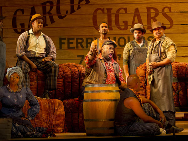 "Joe (Morris Robinson) is the dockworker role written for the legendary bass-baritone Paul Robeson; his song ""Ol' Man River"" is one of the American musical theater's most enduring creations."