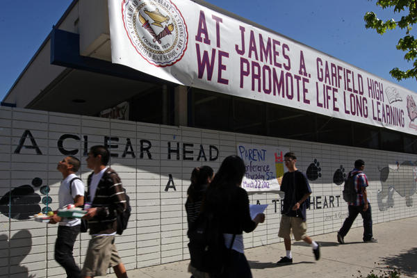 "When Garfield High School in Los Angeles stopped suspending students for ""willful defiance"" several years ago, it saw suspensions drop from more than 600 to just one. Tuesday, the Los Angeles Unified School District board voted to follow suit in all LA schools."