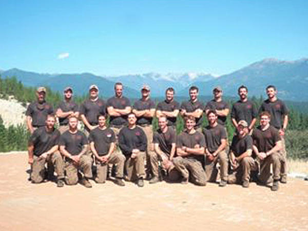The Granite Mountain Interagency Hotshot Crew is shown in this undated handout photo provided by the city of Prescott, Ariz. The elite team of 19 firemen were killed on Sunday in one of the deadliest U.S. firefighting disasters in decades.