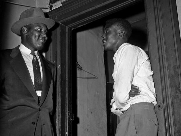 Willie Reed (right) testified against the men accused of murdering 14-year-old Emmett Till in 1955. He changed his last name to Louis after fleeing to Chicago and hardly spoke of the trial.