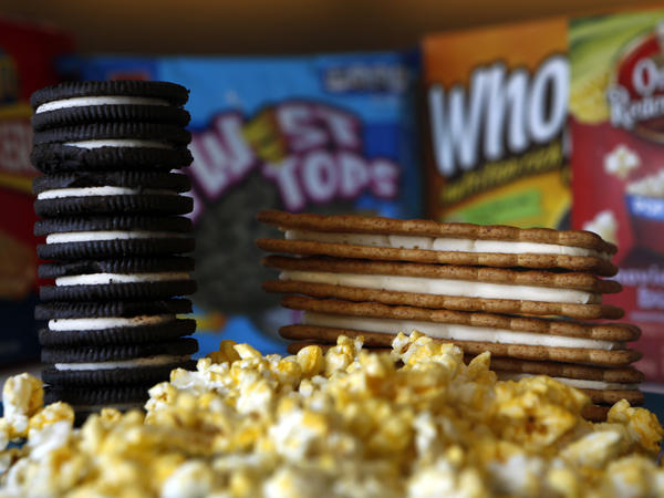 Much of the palm oil imported into the U.S. ends up in snack foods such as cookies, crackers and microwave popcorn.<strong></strong>