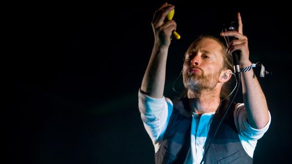 Thom Yorke of Radiohead and Atoms for Peace is one of many musicians concerned with Spotify's small royalty payments.