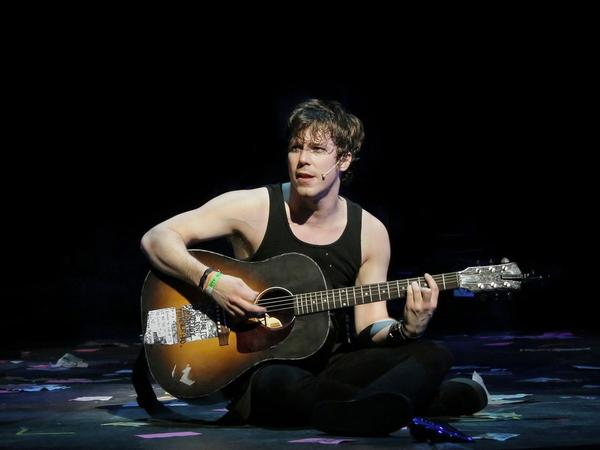 Gallagher says <em>American Idiot</em> was one of the most physically intense shows he has ever done.