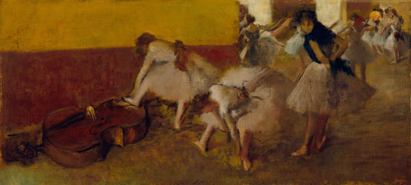 <p>If Detroit does take its artwork to the auction block — which some philanthropists and foundations are trying to prevent — then this piece might sell for $20-$40 million, according to Christie's.</p><p><em>Dancers in the Green Room, </em>Edgar Degas, c. 1879, oil on canvas.</p>