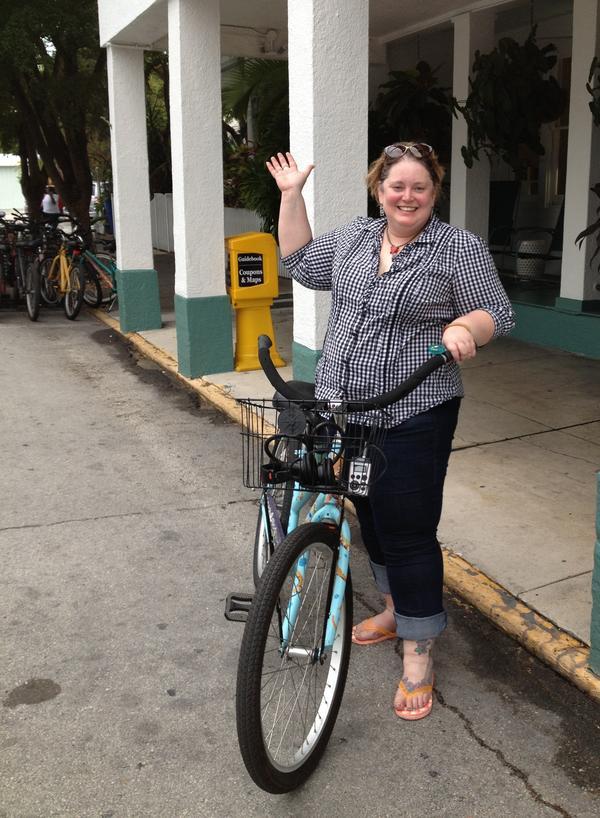 NPR's Petra Mayer has finally learned how to ride a bike.