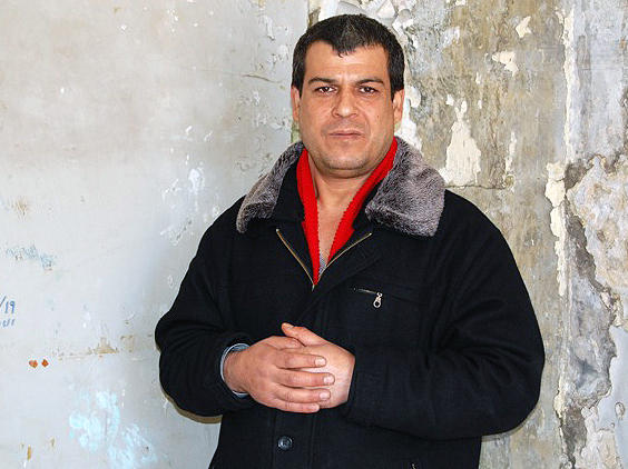 Freed Palestinian prisoner Omar Masoud served 20 years of a minimum 90-year sentence for killing Ian Feinberg, an Israeli, in 1993. Israel freed Masoud in October as part of a political deal to restart peace negotiations with the Palestinians.