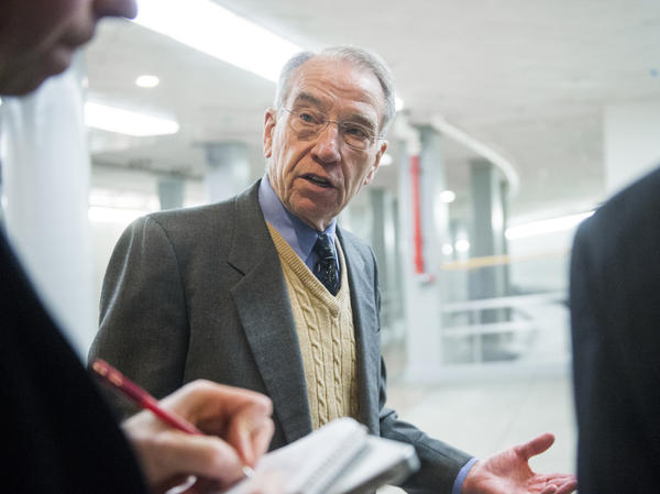 Sen. Chuck Grassley, R-Iowa, headed the Senate Finance Committee when an investigation was launched seven years ago into the finances of six television ministries.