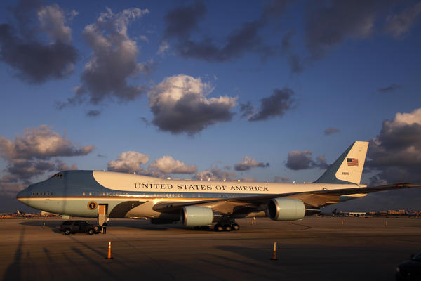 Air Force One, the presidential 747s that carry the president, are already more than a quarter-century old.
