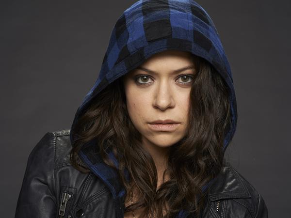Tatiana Maslany plays Sarah, as well as some other characters, on BBC America's <em>Orphan Black</em>.