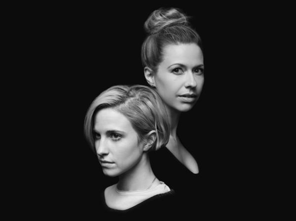 """Hayley Williams (left) of Paramore and Joy Williams, formerly of The Civil Wars, perform together on a version of the song """"Hate To See Your Heart Break"""" from the deluxe version of Paramore's self-titled album."""