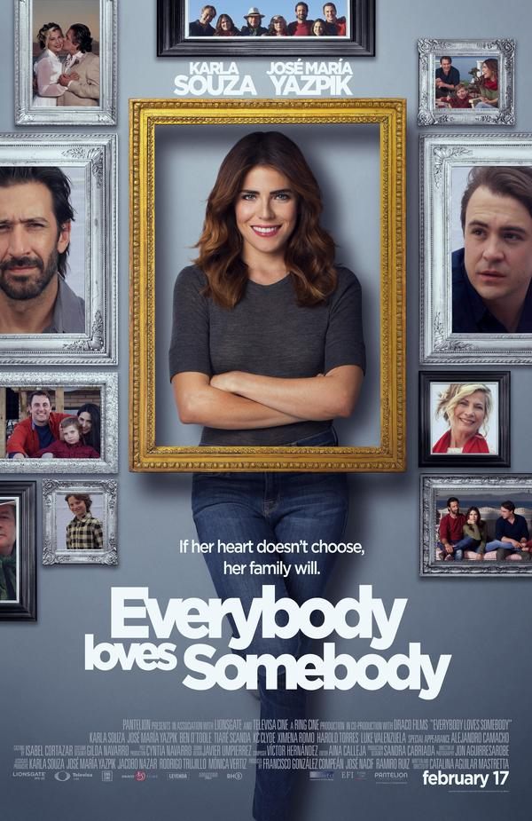 """Everybody Loves Somebody,"" a new bilingual comedy about work, love and family, is set to release on February 17."