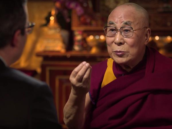The Dalai Lama has a conversation with John Oliver — and fermented horse milk comes up.