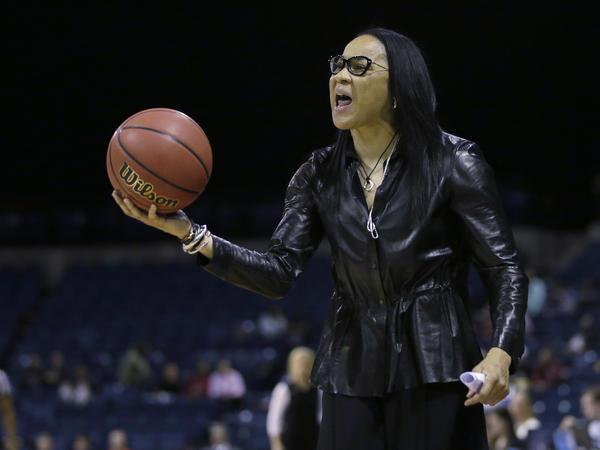 South Carolina head coach Dawn Staley.