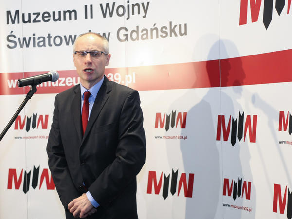 """This is the museum which tells the story of a war in terms of politics, ideology and civil population,"" says museum director Pawel Machcewicz."