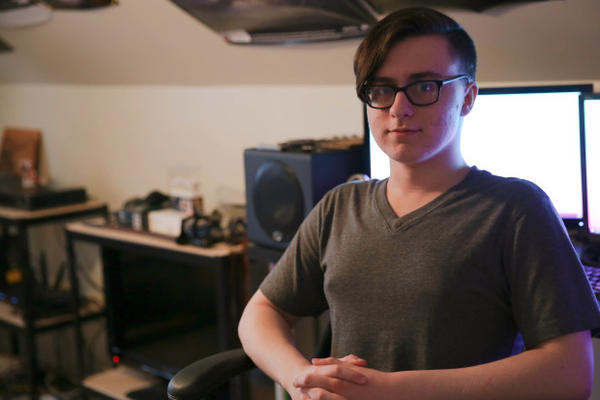<p>Skylar Isaacs is in 11th grade at Oregon Virtual Academy, one of the state's 13 online charter schools with high school-aged students.</p>