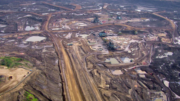 <p>The Alberta Oil Sands deposits make up the third-largest oil reserve in the world.</p>