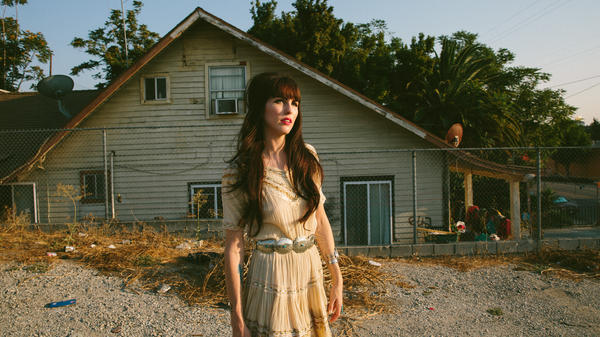 Jaime Wyatt's new album is called <em>Felony Blues</em>.