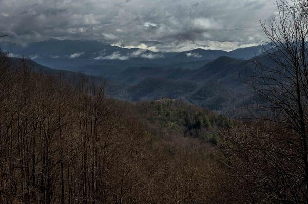 "Robbinsville High School sits tucked in the the Nantahala National Forest. Cheri Lynn is an active high school parent and says she — and many other parents — believe in corporal punishment. ""They use it at home, and so the school is an extension of home."""