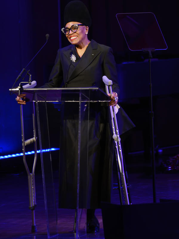 Dee Dee Bridgewater at the 2017 NEA Jazz Masters Tribute Concert on April 3, 2017 at the John F. Kennedy Center for the Performing Arts.