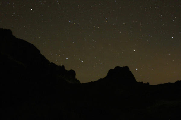 <p>Far away from city lights, this remote corner of Southeast Oregon provides great views of the night sky.</p>