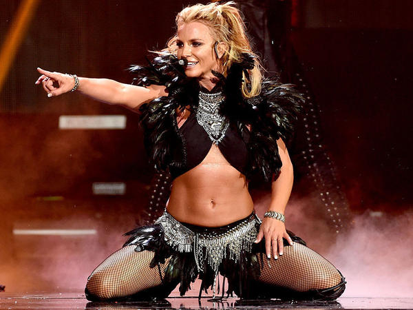 Britney Spears, onstage in Las Vegas in September 2016.