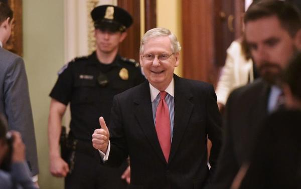 Senate Majority Leader Mitch McConnell and fellow Republicans set a precedent for the Senate on Thursday, changing rules for Supreme Court confirmations and easing the process for nominee Neil Gorsuch.