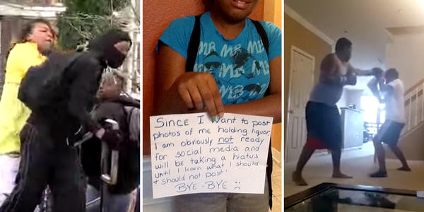 "Social media postings showing parents ""disciplining"" their children, including (from left) LaToya Graham, <a href=""https://www.facebook.com/reshondatbillingsley"" data-hovercard=""/ajax/hovercard/user.php?id=100003122127065"" data-hovercard-prefer-more-content-show=""1"">ReShonda Tate Billingsley</a> and Tavis Sellers, went viral."