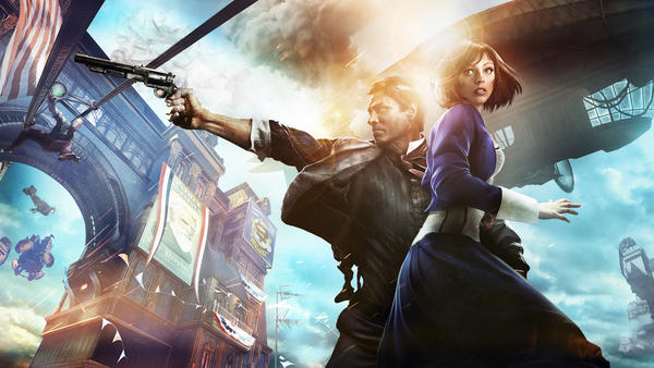 <em></em>In Bioshock Infinite, a simple premise — a guy, a girl, a gun — animates a mind-bending story.