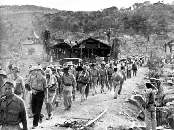 Filipino and American soldiers had defended Bataan for three months with dwindling supplies. Many were already sick and starving by the time the sixty-five mile march began.