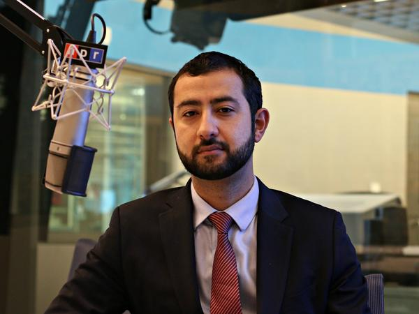 Mouaz Moustafa has spent years advocating on Capitol Hill for the United States to get more involved in Syria.