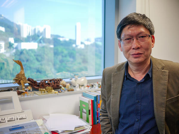 "Guan Yi is the director of the State Key Laboratory of Emerging Infectious Diseases and the Center of Influenza Research at the University of Hong Kong. ""We are trying our best,"" he says about efforts to fight avian flu. ""But we still can't control this virus."""