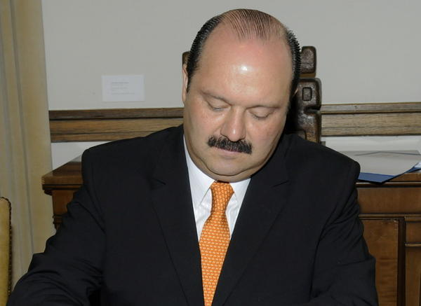César Horacio Duarte, former governor of the Mexican state of Chihuahua.