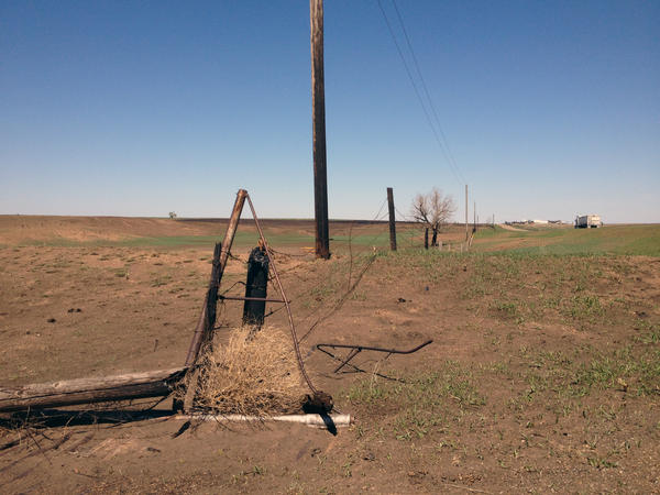 A fast-moving late winter wildfire burned acres of grassland and destroyed miles of fencing at the Kirk Ranch in Clark County, Kansas.