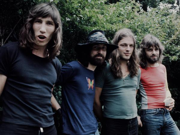 Pink Floyd, in 1971, the year some fans believe they killed fish in a pond by playing too loudly.