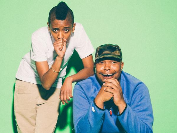 Matt Martians (right) and Syd of The Internet