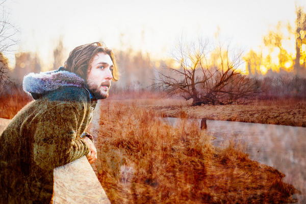 "Conor Ryan plays Christopher McCandless in the new musical ""Into The Wild"""