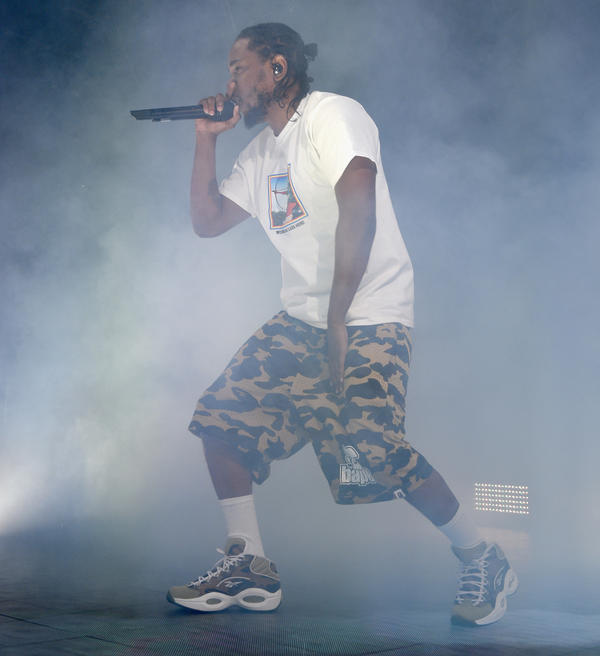 Kendrick Lamar performs in Brooklyn in December 2016.
