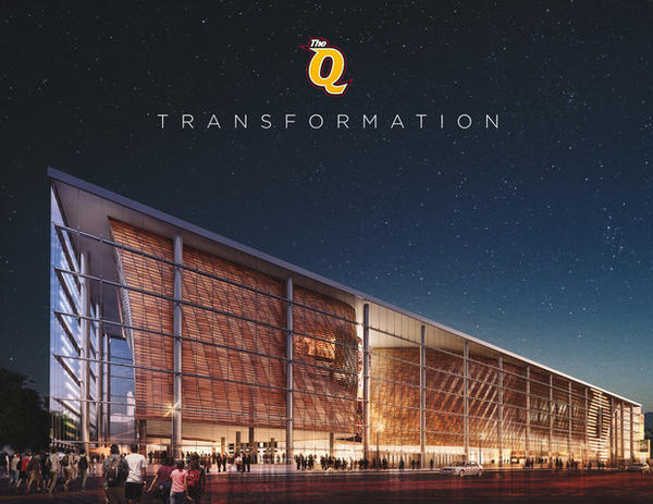 Funding plans for the Q's upgrade could spark a referendum